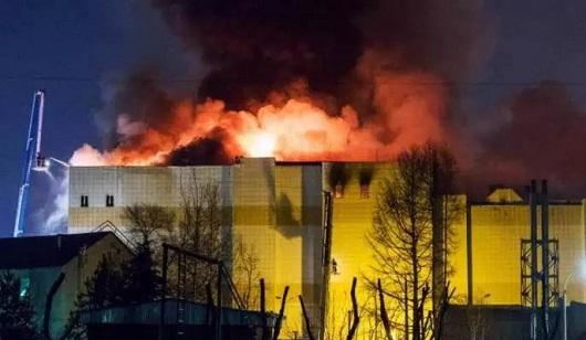 钢结构高层火灾