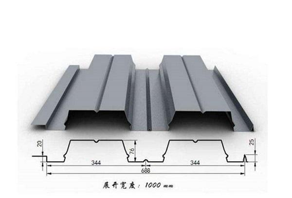 688型开口楼承板